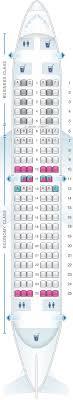 plan de cabine klm boeing b737 700