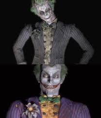 spoilers in batman arkham city the flower on the fake joker is