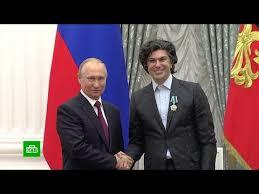 Владимир Путин вручил государственные награды в Кремле - YouTube