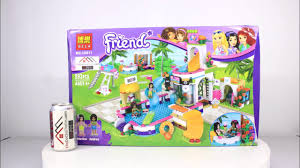 Mở hộp Bela 10611 Lego Friends 41313 Heartlake Summer Pool giá sốc ...