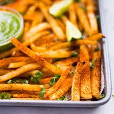 easy baked jicama fries low carb