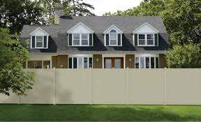 6 X 6 Vinyl Belmont Privacy Fence Panel At Menards