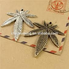 maple leaf necklace charm pendant