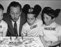 WALT DISNEY, Cubby, and Kevin Corcoran at a celebration for the ...