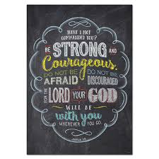 Joshua 1 9 Rejoice Inspire U Poster Creative Teaching Press