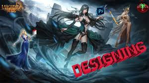 league of angels fan art designing