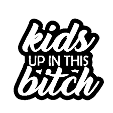 15 2cm 13 7cm Baby On Board Kids Up In This Bitch Mom Life Minivan Vinyl Decal Sticker Car Black Silver C10 00107 Wish