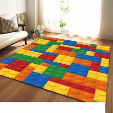 Modern Colorful Rug Bedroom Kids Room Play Mat Carpet Flannel Memory Foam Area Rugs Large Carpet For Living Room Home Decorative Floor Carpet Online Discount Carpet Tile From Gefei01 87 32 Dhgate Com