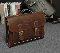 men satchel attache case messenger bag
