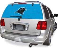 Amazon Com Fremont Die Carolina Panthers Full Rear Auto Window Film Decal Graphics Sticker Football Sports Outdoors