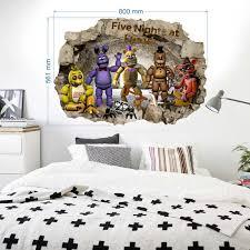 Fnaf Five Nights At Freddy S Wall Stickers Decal Art Decor Vinyl Mural 57x78cm