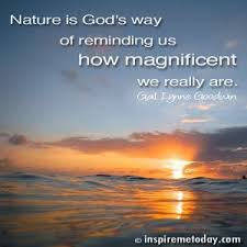 quotes about god s beauty in nature quotes