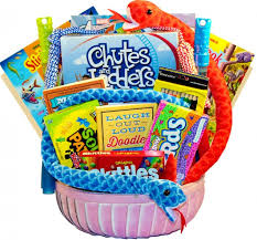 kids zone fun activity gift basket for