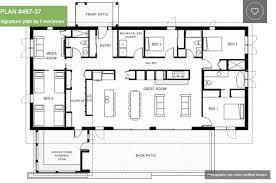 luxury 4 bedroom house plans single