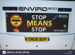 Bus Sticker High Resolution Stock Photography And Images Alamy