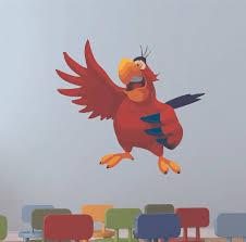 Design With Vinyl Jafar S Bird Lago Aladdin Cartoon Wall Decal Wayfair