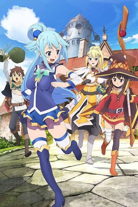 "Hasil gambar untuk cover dvd anime kono subarashii sekai ni shukufuku wo"""