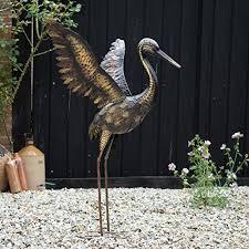 metal bird ornaments co uk