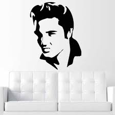 Removable Large Elvis Presley Guitar Music Icon Wall Sticker For Living Room Bedroom Home Decoration Self Adhesive Wall Stickers Shop Wall Decals From Onlybrand 6 04 Dhgate Com