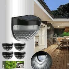 Livivo Solar Fence Light 6 Led Pack Of 4 For Sale Online Ebay