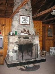 traverse city beautiful stone fireplace