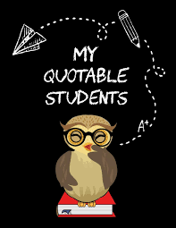 my quotable students a teacher journal to record and collect