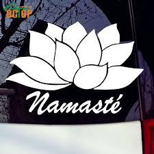 Namaste Lotus Flower Decal Rocket Active Gear