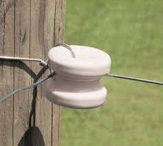 Zareba Mp 36 Electric Fence Insulators Porcelain Corner End Post