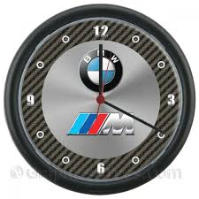 Bmw And The M Tech M Sport Logo S Wall Clock