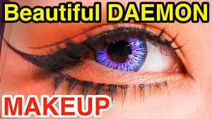 anese oni cosplay makeup tutorial