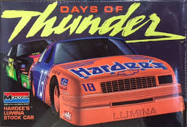 A History Of Monogram S 1 24 Days Of Thunder Nascar Kits