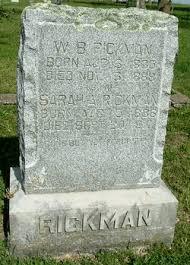 Sarah Adeline Stewart Rickman (1836-1917) - Find A Grave Memorial