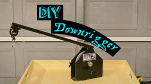diy making a downrigger you