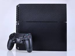 Ps4 Carbon Fiber Decal Skin For Console And Controller Tablet Phone Case
