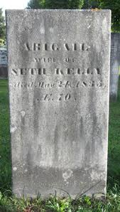Abigail Kelly (1765-1835) - Find A Grave Memorial