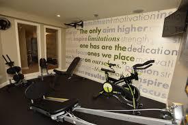 contemporary home gym chicago