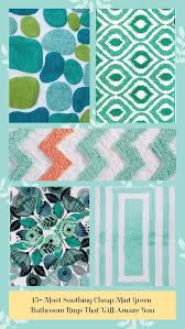 mint green bathroom rugs