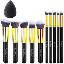 emaxdesign 10 1 pieces makeup brush set