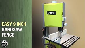 How To Make A Fence For A 9 Inch Bandsaw Youtube