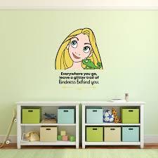 Kindness Tangled Rapunzel Quote Cartoon Quotes Decors Wall Sticker Art Design Decal For Girls Boys Kids Room Bedroom Nursery Kindergarten Home Decor Stickers Wall Art Vinyl Decoration 10x10 Inch Walmart Com