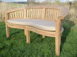 seater curved garden bench love seat