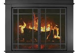 residential retreat glass doors on