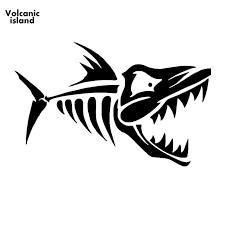 15cm X 9 3cm Skeleton Fish Bones Vinyl Decal Art Sticker Kayak Fishing Car Truck Boat Tribal Car Sticker Jdm Graphics Buy At The Price Of 1 56 In Aliexpress Com Imall Com