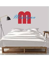 Get The Deal Girl S Custom Name And Initial Wall Decal Choose Your Own Name Initial And Letter Styles Multiple Sizes Personalized Name Wall Decal Wall Decal Sticker Vinyl Wall Stickers For Kids