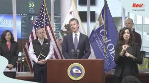 California Governor Gavin Newsom ...