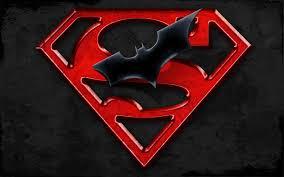 superman batman logo cartoon hd
