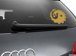 Yin Yang Dragon Car Sticker Window Styling Decal Gold Ebay