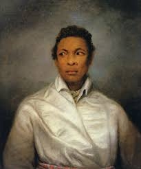 Painting of Ira Aldridge as Othello - The British Library