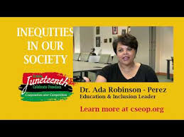 Inequities in our Society with Dr. Ada Robinson-Perez - YouTube