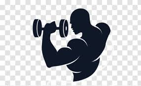 Fitness Centre Logo Wall Decal Physical Overhead Press Bodybuilding Transparent Png